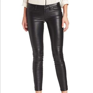 Blank NYC Faux Leather Jean